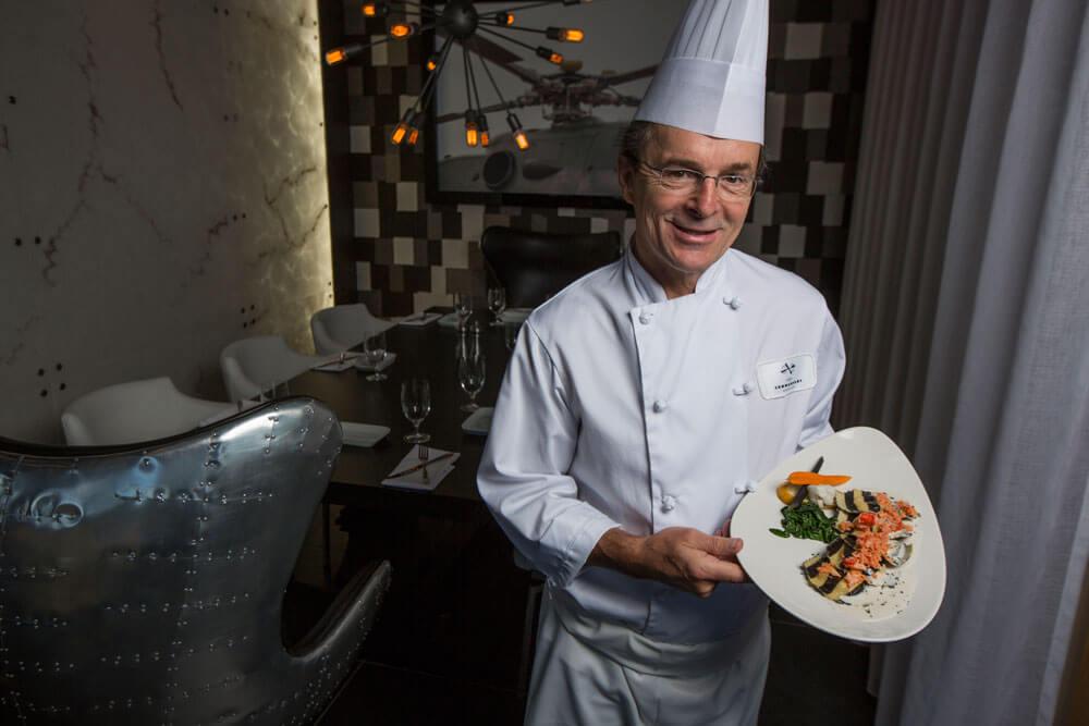 Mario Gagnon - Chef du restaurant Le Commandant