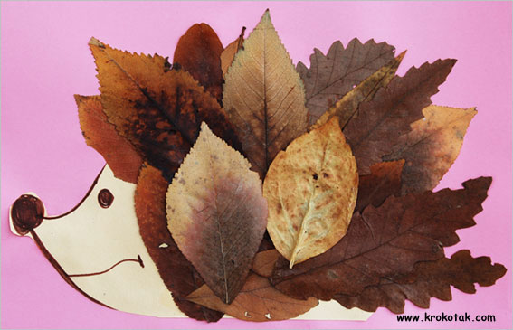 bricolage animaux automne