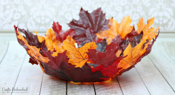 bricolage feuilles automne