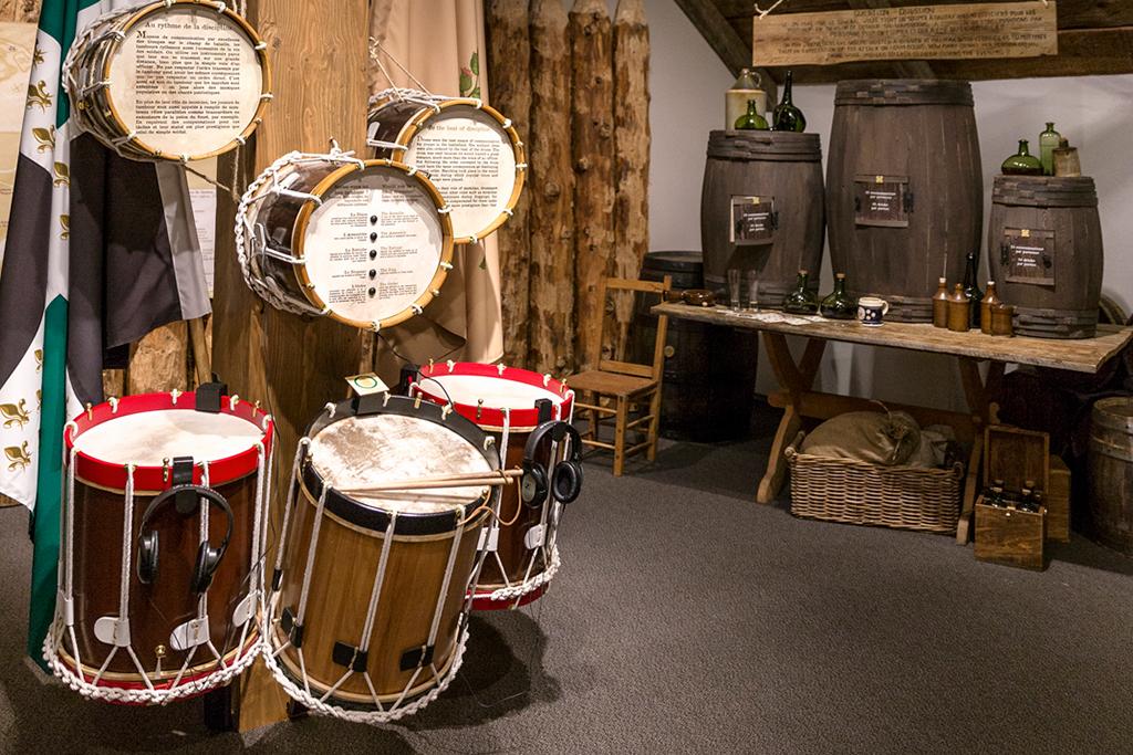 Quoi faire à Québec cet été : visiter le Musée des plaines d'Abraham pour y admirer tambours et artefacts.